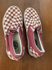 Vans Unisex Slip On Pro Checkerboard Canvas Shoes Men's 7.5 Women's 9 Brand New!