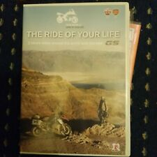 DVD THE RIDE OF YOUR LIFE ONE WORLD BMW R2200GS MOTORRAD EUC MOTORBIKE 2013 OOP