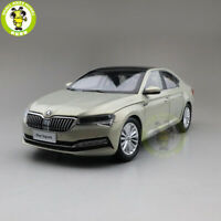 1/18 Skoda New SUPERB Diecast MODEL CAR Toys boys girls gifts Gold