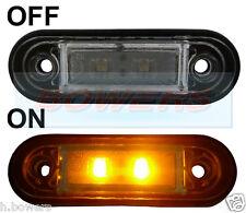 12v/24v SCARICO Fit Ambra LED luce di posizione/luce Camion Van Kelsa BAR come RDX