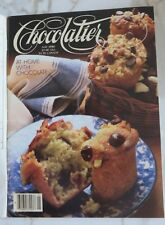 Chocolatier Magazine May 1986