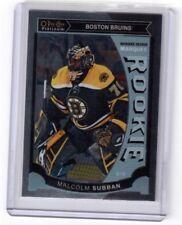 2015-16 O Pee Chee Platinum Marquee Rookie Malcolm Subban Boston Bruins