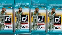(4) 2018-19 Donruss Basketball New NBA Trading Cards 30ct FAT PACK LOT FS