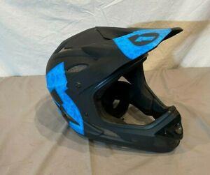 SixSixOne Comp Shifted Full Face BMX/Downhill Helmet Matte Black Size Medium