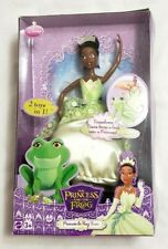 Mattel 2009 Disney The Princess Tiana & The Frog African American Doll (NEW)