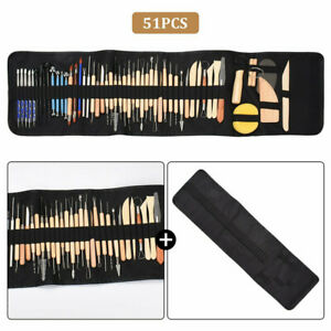 51PCS Polymer Clay Tools Set Modelling Sculpting Tool Pottery Model Art Projects