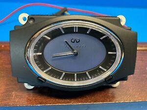 08 INFINITI G35  DASH CLOCK