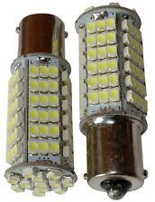 2x Ampoules 24V P21W R10W R5W 102LED SMD blanc pour camion semi-remorque portail