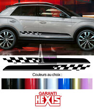 2 BANDES BAS DE CAISSE PORTES POUR VW T-ROC SUV AUTOCOLLANT STICKER BD540N-39