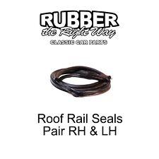 1972 1973 1974 1975 1976 Ford Torino Roof Rail Seals - 2 Door Fastback