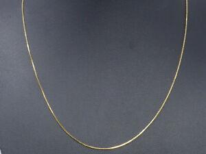 Halskette 585 GOLD Goldkette 14 Karat Kette necklace collier collar Gelbgold