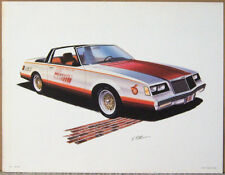 POSTER-PRINT ~ 1981 BUICK ~ INDIANAPOLIS 500 PACE CAR