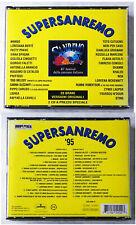 SUPERSANREMO ´95 - Toto Cutugno, Patty Pravo, Giorgio Faletti.. Mercury 2-CD-Box