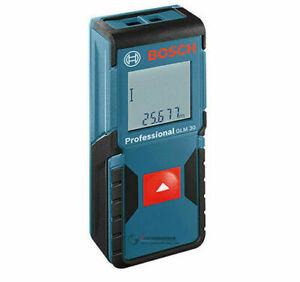 NEW Bosch Blaze GLM30 100'/30m Laser Distance Measure Range Finder Sealed