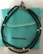 "NEW Tiffany & Co. Ziegfeld Spinel & Pearl Necklace 20"" RETIRED"