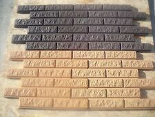 Mold RAGGY BRICK VENEER for Concrete Plaster Wall Brick Tiles