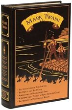Mark Twain: Five Novels (rare, leather-bound edition)