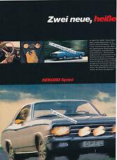 Opel-Commodore-Rekord-Reklame-Werbung-genuine Advertising - nl-Versandhandel
