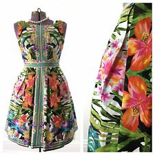 Maggy London hawaiian tropical 1950s 50s dress retro party pinup small medium 6