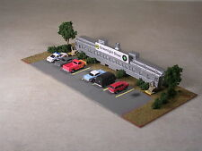 N Scale Trackside Cafe in Pullman Passenger Car with Automobiles, Part #442036