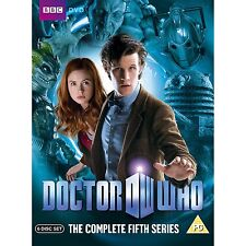DOCTOR Dr WHO Complete 5th Series Season 5 Five R4 DVD Box Set New & Sealed