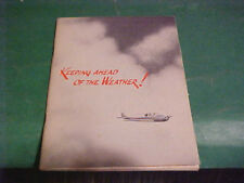 New Listing1958 Aviation Book Keeping Ahead Of The Weather Kraght
