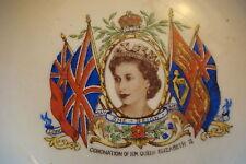 Queen Elizabeth II Coronation 1952 Alfred Meakin collector plate[*35]