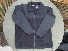 USMC Black Polartec 300 Fleece Jacket ECWCS Cold Weather Size Medium - Very Good