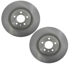 Brembo Pair Set of 2 Front Vented Coated Disc Brake Rotors For Mustang GT Base