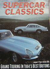 Supercar Classics 01/1989 featuring Jaguar E-type, Aston Martin DB5, HMW, BMW