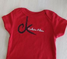 Calvin Klein Baby Girl 3-6 Month Bodysuit Lot of 5 Assorted Colors NEW**