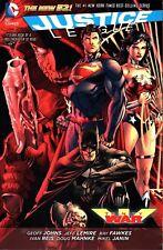 Justice League Trinity War (2014 ,Libro en Rústica) Novela Gráfica, Manga