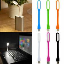 Flexible Bright Mini Usb Led Light Lamp Notebook Laptop Desk Radom Colors 3 Pcs
