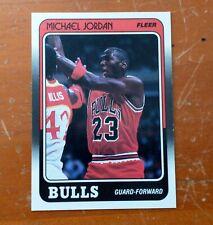 1988-89 FLeeR BaSKeTBaLL #17 MiCHaeL JoRDaN
