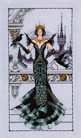Cross Stitch Chart / Pattern ~ Mirabilia The Raven Queen #MD139