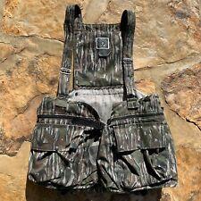 NEW VTG 2XL 10x ORIGINAL Realtree NWTF Turkey Pattern Hunting Vest Seat Mens bag