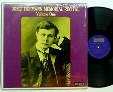 JOSEF HOFFMANN Memorial Recital Vol 1  cla199