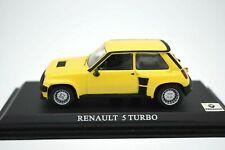 MODELLINO AUTO RENAULT 5 TURBO R5 SCALA 1:43 MODELLISMO STATICO COLLEZIONE PRADO