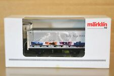 MARKLIN MÄRKLIN 4890.100 SONDERMODELL INFO TAGE 2002 GOODS WAGON MINT BOXED np