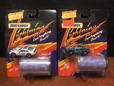 Matchbox Lightning Nissan 300zx Lot Of 2 Dela3684