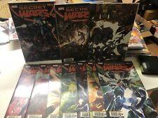 S1 SECRET WARS serie da 0 a 9 n.2 variant Marvel