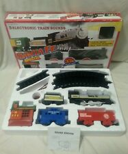 TRAIN SET - Boxed Santa Fe Special 3 Electronic Train Sounds No 6062 1990 Rare