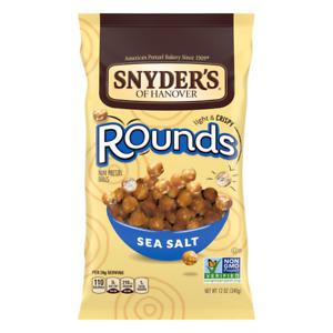 Snyder's of Hanover Rounds Sea Salt 12 oz