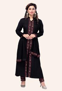 Pakistani Indian Shalwar Kameez Designer Readymade Trouser Suit Eid Collection