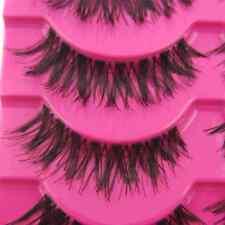 NEW Fashion 5 Pair/Lot Crisscross False Eyelashes Lashes MESSY SOFT eye lashes