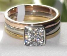 Anillos de bisutería anillo de compromiso color principal rosa