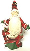 "Christmas Santa Claus St. Nicholas Holding a String Of Presents 18"""