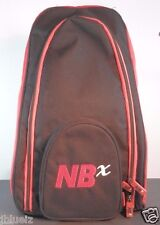 New Balance NBx Red Black Backpack padded 1 strap Nylon Insulated