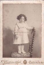 * FOTO CABINET - Catanzaro - Bambina (Fot.D.Scarpino e figli) 1905