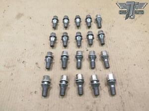 14-17 MASERATI GHIBLI M157 SET OF 20 WHEEL LUG NUT BOLT OEM